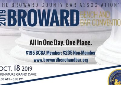 Mediator Art Garcia to Speak for 2 Sessions at Broward County Bench & Bar