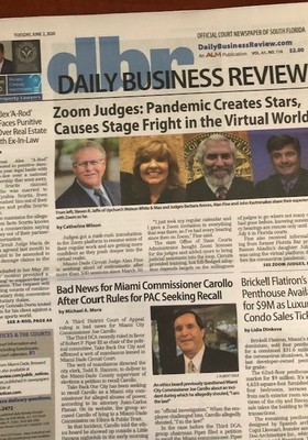 Steve Jaffe Talks about Mediation by Zoom with Daily Business Review