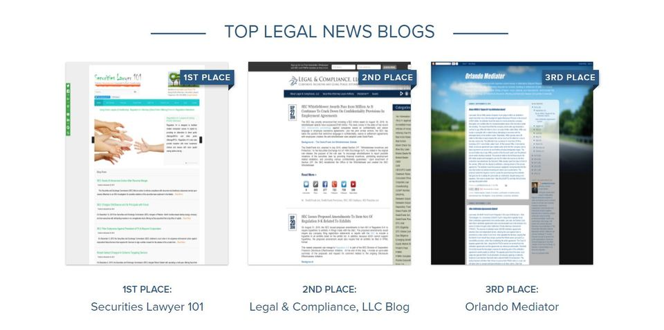 Top Legal News Blogs