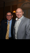 South Florida mediator Art Garcia with another past MDTLA president, attorney Bill Wolk.