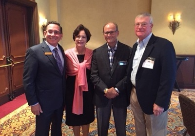Four UWWM Mediators Visit FLABOTA's Annual Conference