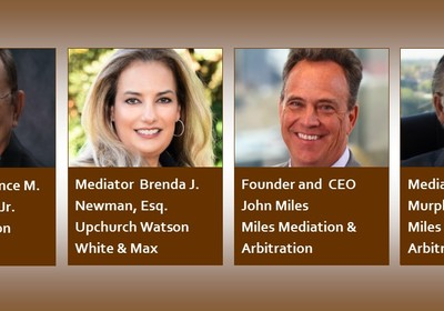 Powerhouse Southeastern Mediation Firms Join Forces to Present 3-Part Continuing Legal Education Series