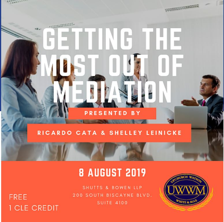 Getting the Most Out of Mediation Flyer
