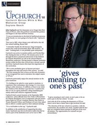 UFLaw Article Featuring John Upchurch