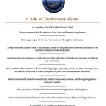Code of Professionalism